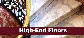 High-end floor restoration services in Ronkonkoma, NY.
